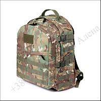 Тактический рюкзак 30 литров мультикам для военных, рыбалки, туризма нейлон