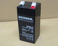 Аккумулятор 4V 4.5Ah Bossman profi  2FM4.5 - LA445