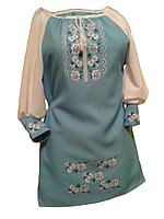 """Жіноче вишите плаття """"Нессі"""" (Женское вышитое платье """"Несси"""") PU-0004"""
