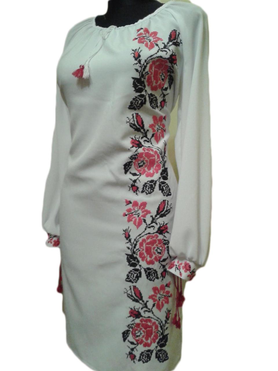 """Жіноче вишите плаття """"Наталі"""" (Женское вышитое платье """"Натали"""") PU-0005"""