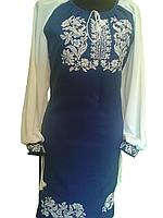 "Жіноче вишите плаття ""Мейкісон"" (Женское вышитое платье ""Мейкисон"") PU-0006"