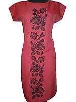 """Жіноче вишите плаття """"Нанні"""" (Женское вышитое платье """"Нанни"""") PU-0009"""