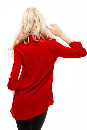 Блузка 232 красная размер 42, фото 2