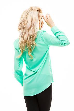 Блузка мята размер 42, фото 2