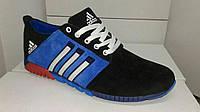 Мужские кожанные кроссовки Adidas