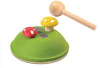 Развивающая игрушка Plan Тoys - Забивалка грибочки