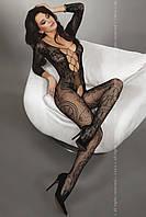 Бодикомбинезон большого размера Livia corsetti Zita black XL/XXL