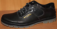 Туфли мужские спортивные больших размеров кожа, мужская обувь больших размеров от производителя модель БФ35-1В