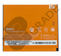 Аккумулятор на Xiaomi BM41 (Redmi 1S), 2000mAh