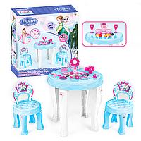 """Детский столик-трюмо """"Холодное сердце"""" 901-348 с 2-мя стульчиками"""
