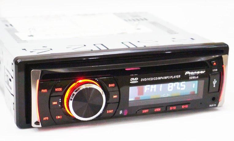 DVD Автомагнитола DEH-8400UBG USB Sd MMC DVD съемная панель