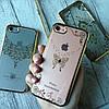 Силиконовый чехол с камнями по бамперу на iPhone 7 , фото 4