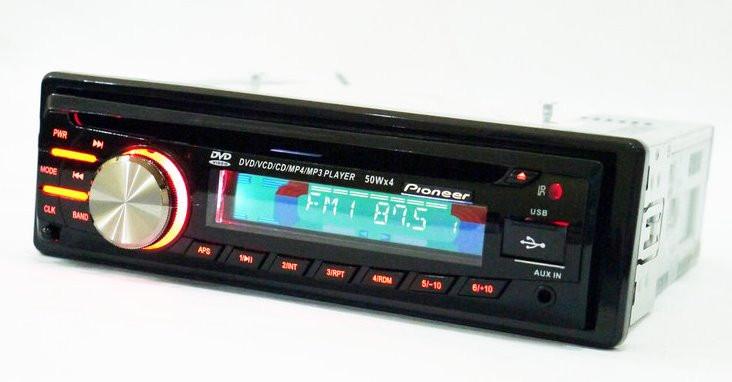 Автомагнитола DEH-8350UBG USB Sd MMC DVD съемная панель