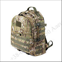 Тактический рюкзак 30 литров мультикам для военных, рыбалки, туризма кордура