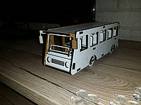 """3D Пазл """"Автобус"""""""