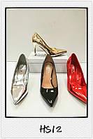 Лаковые туфли на шпильке оптом Размеры 36-41