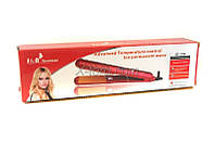 Утюжок для волос керамический GT-918, плойка для укладки волос, утюжок плойка, выпрямитель волос