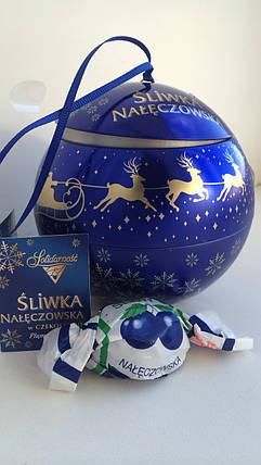 Конфеты Slivka Слива в шоколаде (подарочный набор) Польша, фото 2