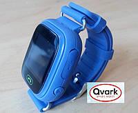 Детские часы Smart watch Qvark 100 c GPS трекером Тёмно-синие
