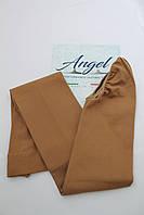 Колготки для фигурного катания матовые.В ботинок/На ботинок (Angel Италия) /100 den. Карамель.