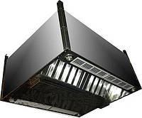 Зонт приточно - вытяжной островной прямоугольный   450x1400x800 оцинк