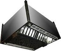 Зонт приточно - вытяжной островной прямоугольный   450x1600x800 оцинк