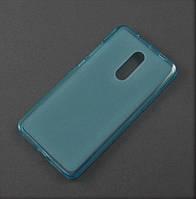 Чехол TPU для Xiaomi Redmi Note 4 4pro голубой матовый