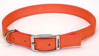 Remington Reflective светоотражающий ошейник для собак, нейлон, оранжевый, 2,5 см, Х70 см