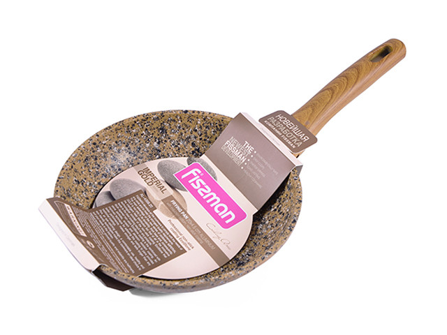 """Сковорода с антипригарным каменным покрытием 20х4.5см Fissman """"Imperial Gold"""" (AL-4358.20)"""