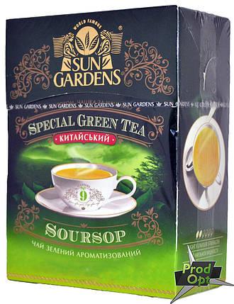 Чай Green Garden №9 Soursop 100г , фото 2
