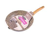 """Сковорода с антипригарным каменным покрытием 26х5.5см Fissman """"Imperial Gold"""" (AL-4360.26)"""