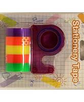 Диспенсер со скотчем (5шт цветной скотч) №93