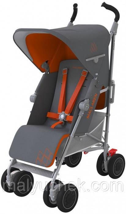 Прогулочная коляска Maclaren TECHNO XT Charcoal/Marmalad