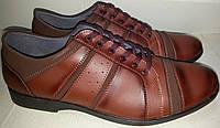 Туфли мужские эко-кожа р40-44 GOLD 001