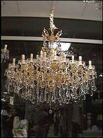 Люстра свеча LMD703/32