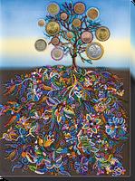 Набор для вышивки бисером Денежное дерево