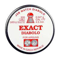 Пули JSB Exact Diabolo 0.547-4.51, 500 шт, высокое качество, Чехия