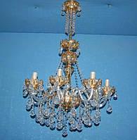 Люстра свеча L19597/8 G (gold)
