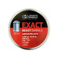 Пули JSB Exact Beast 1.05-4.52 250pcs, класса Магнум, подходят для охоты