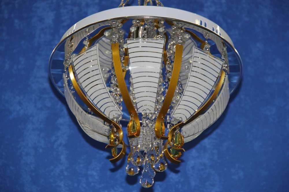 Светодиодная люстра с пультом управления (ВЛ) L19142/400/4 (CH)