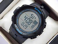 Мужские (женские) спортивные наручные часы Skmei черного цвета, фото 1
