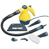 """Ручной вертикальный отпариватель - парогенератор, пароочиститель """"Steam Cleaner"""" 6в1"""
