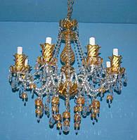 Люстра свеча L17029/8 (gold)