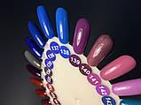 Гель-лак Nice for you № 140 (лиловый с разноцветным микроблеском) 8.5 мл, фото 4