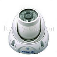Антивандальная купольная камера видеонаблюдения LUX 842D6, наружная цветная видеокамера, аналоговая видеокамер
