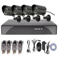 Комплект видеонаблюдения OUTDOOR KIT, комплект видеонаблюдения наружный, комплект видеонаблюдения уличный