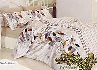 Комплект постельного белья ТМ Sveline Tekstil (Украина) ранфорс полуторный RG6906bn