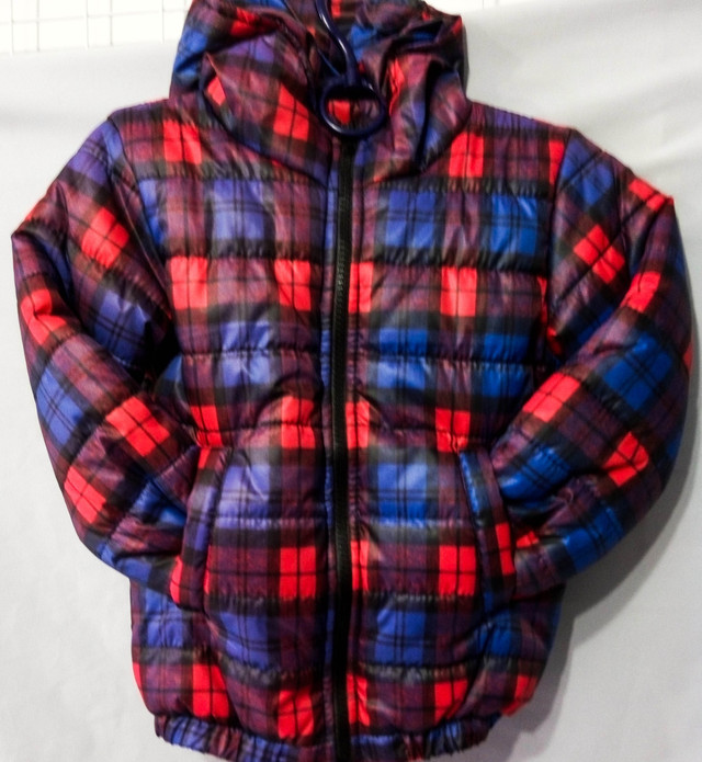 Куртка детская красно синяя