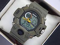 Мужские (женские) спортивные наручные часы Skmei болотного цвета, фото 1
