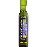 Льняное масло органик холодного отжима Eco-Olio, 250 мл